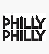 Philly Philly Skyline Photographic Print