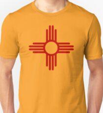 Zia Pueblo Sun Symbol Unisex T-Shirt