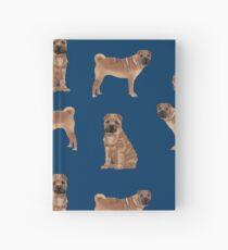 Sharpei dog breed gifts pet friendly sharpei dogs Hardcover Journal