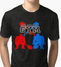 Goz and Mez Gym Tri-blend T-Shirt