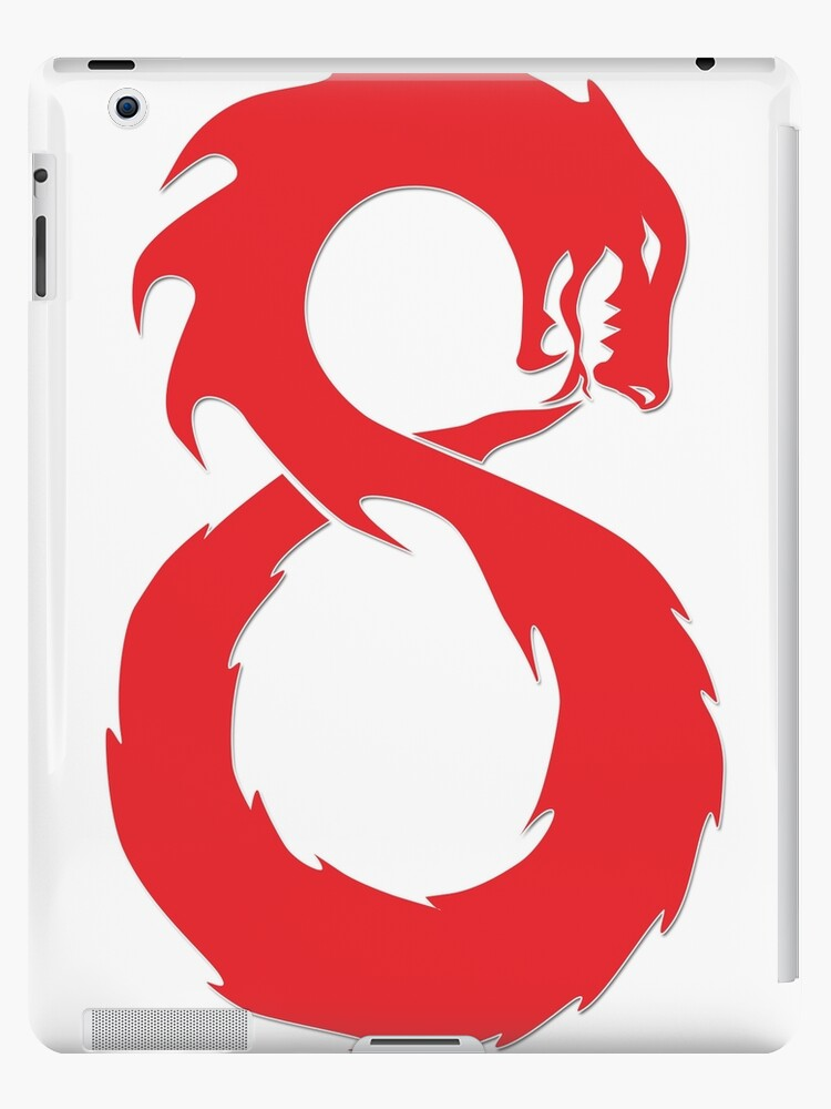'Lucky Number Eight - The Chinese Infinity Dragon' iPad Case/Skin by  infinitewave