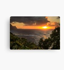 Bali Hai Sunset Canvas Print