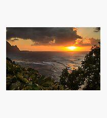 Bali Hai Sunset Photographic Print