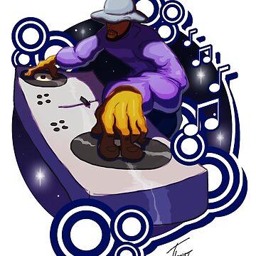 Hip Hop Elements 01 - The DJ by urbanity