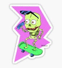 SKELETON LIFE Sticker