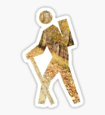Autumn Hiker Sticker