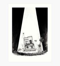 Haunted #1 - Abduction Art Print