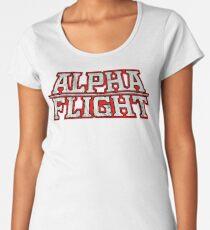 Alpha Flight  Women's Premium T-Shirt