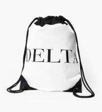 Delta Sorority Drawstring Bag
