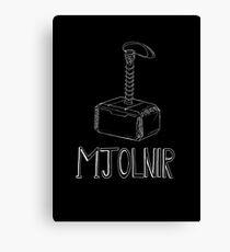 Mjolnir : Thor's Hammer Canvas Print