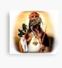 Raptor Jesus Canvas Print