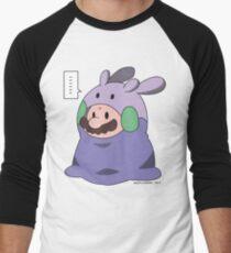 Goomy Mario Is So Cute! Men's Baseball ¾ T-Shirt