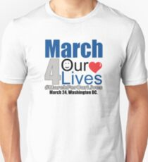 MARCH FOR OUR LIVES #MarchForOurLives Unisex T-Shirt