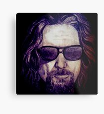 The Dude Abides Metal Print