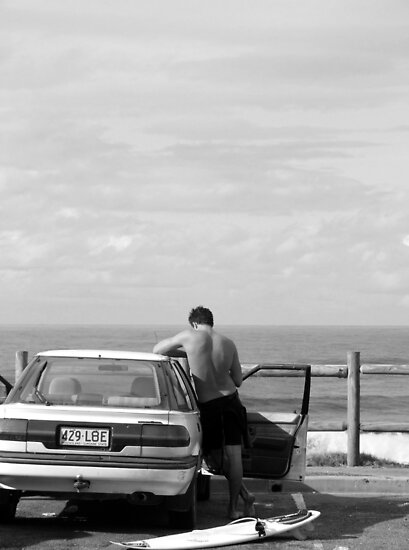 Surfer by John Douglas