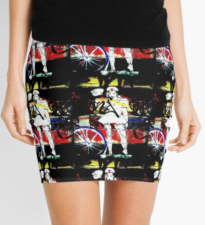 Alien Nurse Outfit Mini Skirt