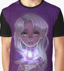 Magical Galaxy Elf Girl Graphic T-Shirt