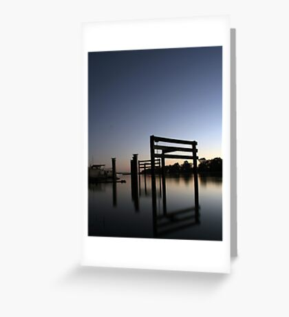 Murray River Reflections Greeting Card
