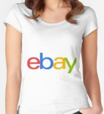 Ebay Women's Fitted Scoop T-Shirt