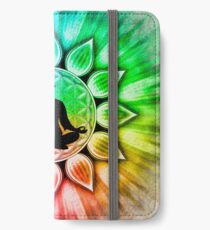 In meditation with Chakras III iPhone Wallet/Case/Skin