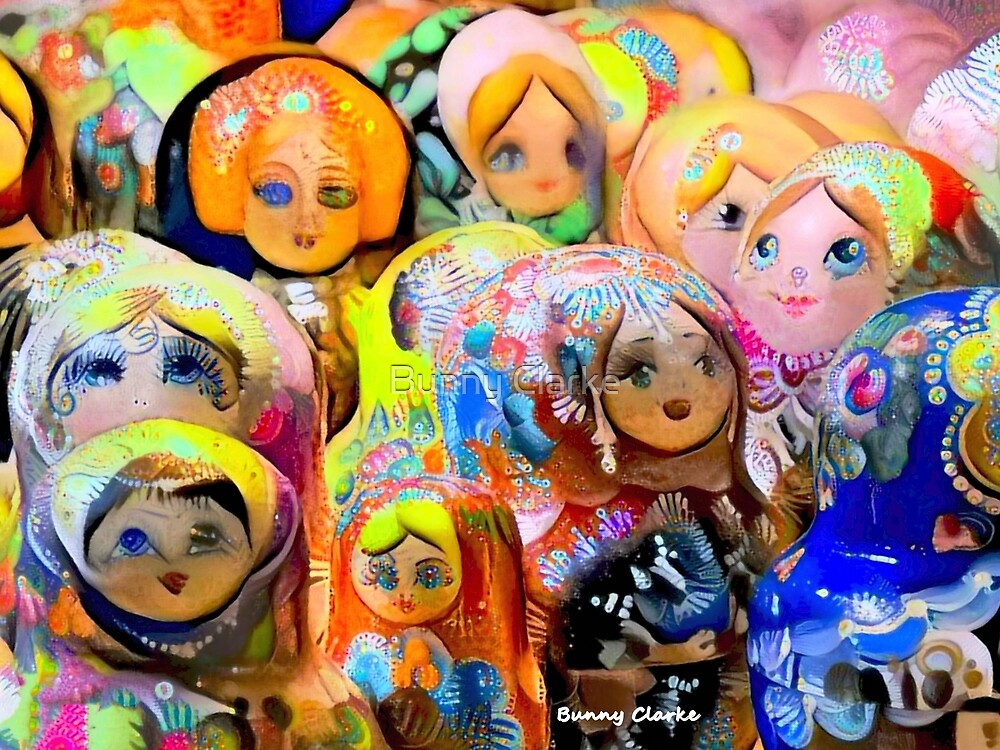 A Gaggle of Girls by Bunny Clarke