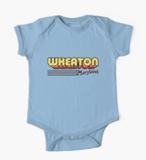 Wheaton, Maryland | Retro Stripes One Piece - Short Sleeve