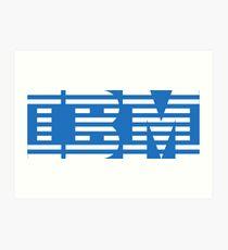 IBM Art Print
