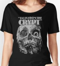 Tales From The Crypt - Skull Women's Relaxed Fit T-Shirt