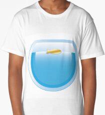 Fish in round aquarium Long T-Shirt
