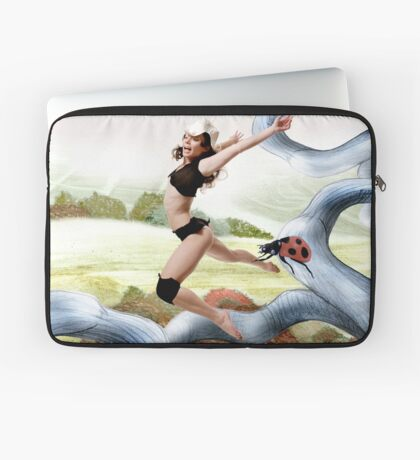 Welcome October in the Elf World Laptop Sleeve