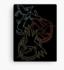Birds x The Hunger Games Canvas Print