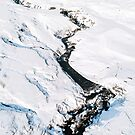 River in winter in Iceland - Landscape Photography by Michael Schauer
