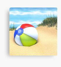 Beach Ball Metal Print