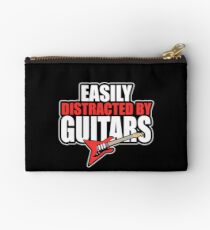 Easily distracted by Guitars Studio Pouch