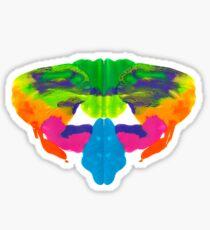 Tintenklecks Rorschach Sticker