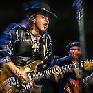 Stevie Ray Vaughan - Couldn't stand the Weather  by Glenn Feron