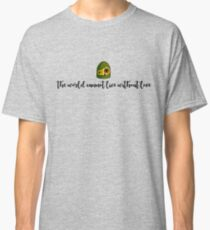 LAPUTA - The World Cannot Live Without Love Classic T-Shirt