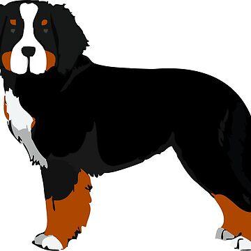 Berner Mountain Dog by emrdesigns