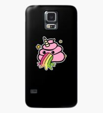 Funda/vinilo para Samsung Galaxy Unicorn Poop Emoji Funny Poop Emoji