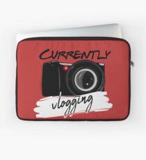 Currently Vlogging Laptop Sleeve