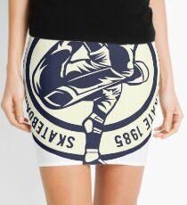 SKATEBOARD LEGEND BORN TO SKATE 1985 T-SHIRT  Mini Skirt