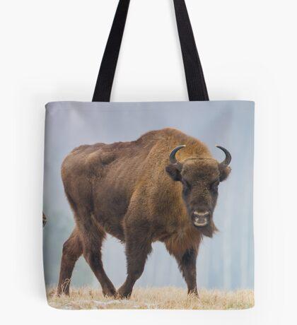 Cow and a calf Tote Bag