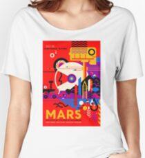 Nasa Mars Retro Tours  Women's Relaxed Fit T-Shirt