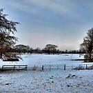 Blue Winter Pano~ by WJPhotography