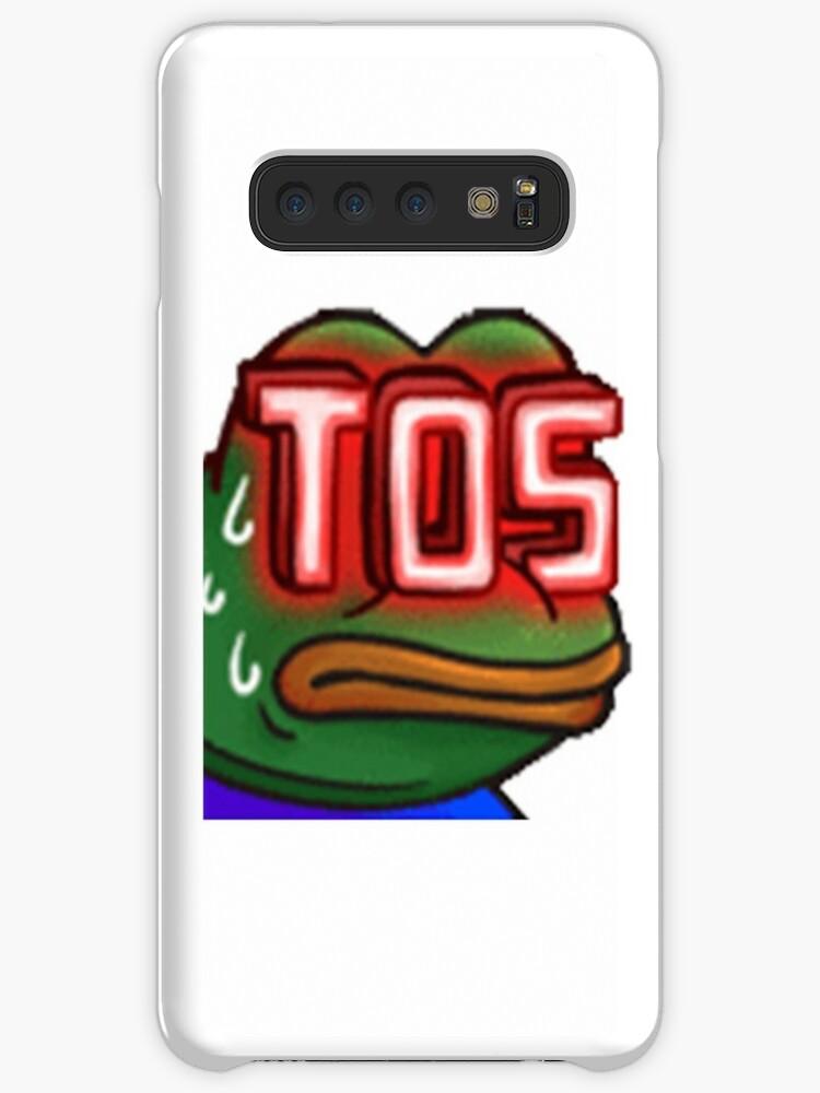 'monkaTOS Twitch Emote' Case/Skin for Samsung Galaxy by mattysus
