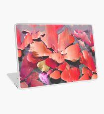 Glitch Blütenblätter Laptop Skin