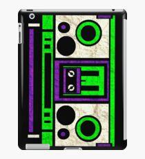 Boombox 1987- XXL iPad Case/Skin