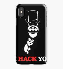 I hacker You  iPhone Case