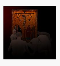NAKED POVERTY OF ACOLYTES AND GOLDEN ICONS Photographic Print