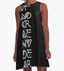 Wakanda Forever A-Line Dress